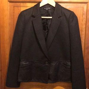 Alexander Wang cropped knit jacket. EUC